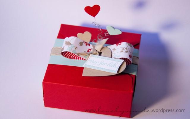 Verpackung mit Herz