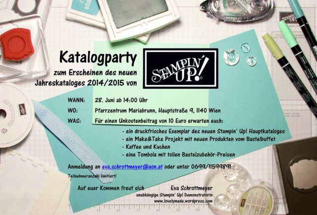 Stampin' Up! Katalogparty 2014 Wien