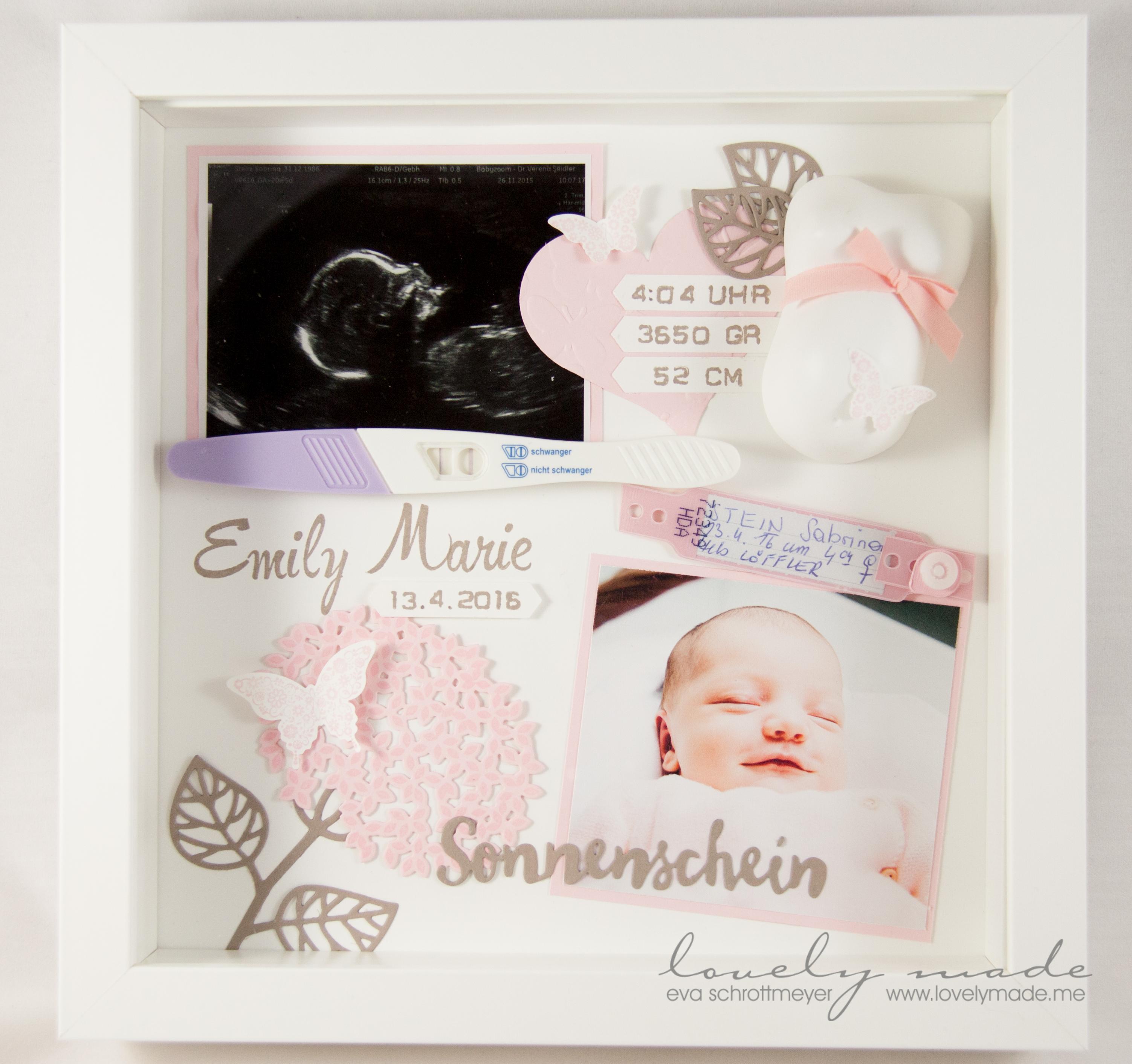 Baby Shadow Box | lovelymade