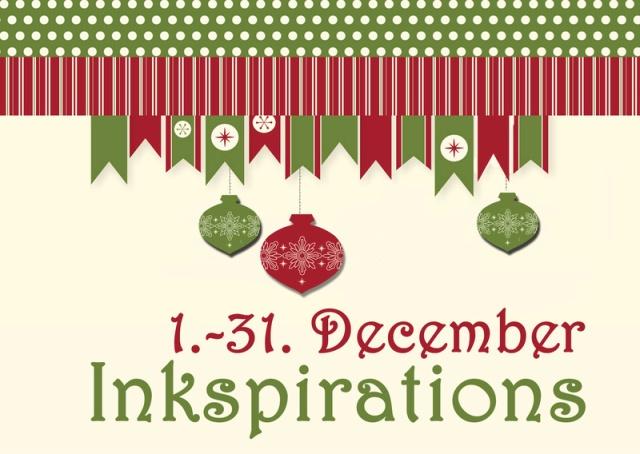 StampinUP Inkspiration Dezember 2016 Projekte zu Weihnachten, Advent, Silvester